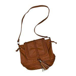 JUSTFAB Crossbody Fringe Bag
